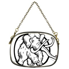 Mammoth Elephant Strong Chain Purses (two Sides)