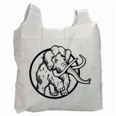 Mammoth Elephant Strong Recycle Bag (one Side)