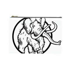 Mammoth Elephant Strong Cosmetic Bag (large)