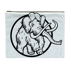 Mammoth Elephant Strong Cosmetic Bag (xl)