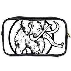 Mammoth Elephant Strong Toiletries Bags 2 Side