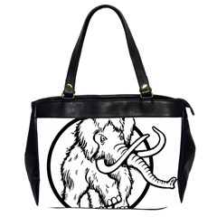 Mammoth Elephant Strong Office Handbags (2 Sides)