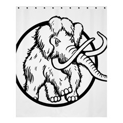 Mammoth Elephant Strong Shower Curtain 60  X 72  (medium)