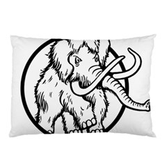 Mammoth Elephant Strong Pillow Case (two Sides)