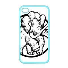 Mammoth Elephant Strong Apple Iphone 4 Case (color)
