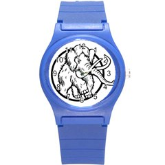 Mammoth Elephant Strong Round Plastic Sport Watch (s)