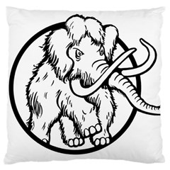Mammoth Elephant Strong Large Cushion Case (two Sides)