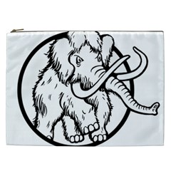 Mammoth Elephant Strong Cosmetic Bag (xxl)