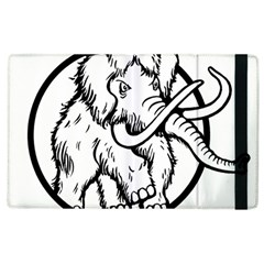 Mammoth Elephant Strong Apple Ipad 3/4 Flip Case