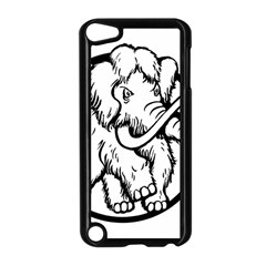 Mammoth Elephant Strong Apple Ipod Touch 5 Case (black)