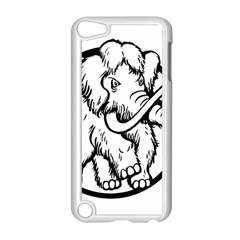 Mammoth Elephant Strong Apple Ipod Touch 5 Case (white)