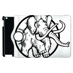 Mammoth Elephant Strong Apple Ipad 2 Flip 360 Case
