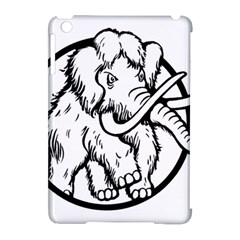 Mammoth Elephant Strong Apple Ipad Mini Hardshell Case (compatible With Smart Cover)