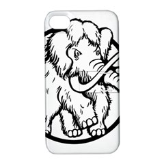 Mammoth Elephant Strong Apple Iphone 4/4s Hardshell Case With Stand