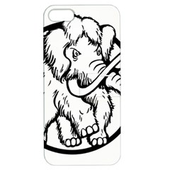 Mammoth Elephant Strong Apple Iphone 5 Hardshell Case With Stand