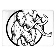 Mammoth Elephant Strong Samsung Galaxy Tab 10 1  P7500 Flip Case