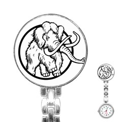 Mammoth Elephant Strong Stainless Steel Nurses Watch