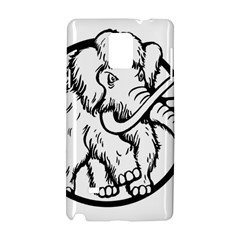 Mammoth Elephant Strong Samsung Galaxy Note 4 Hardshell Case