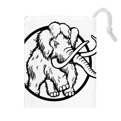 Mammoth Elephant Strong Drawstring Pouches (extra Large)
