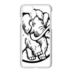 Mammoth Elephant Strong Apple Iphone 7 Seamless Case (white)