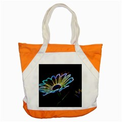 Flower Pattern Design Abstract Background Accent Tote Bag