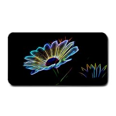 Flower Pattern Design Abstract Background Medium Bar Mats