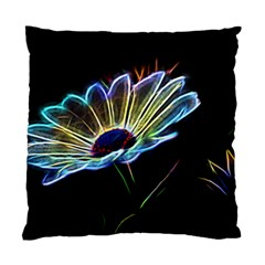 Flower Pattern Design Abstract Background Standard Cushion Case (one Side)