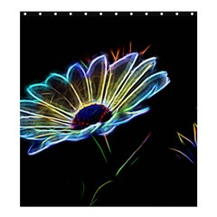 Flower Pattern Design Abstract Background Shower Curtain 66  X 72  (large)