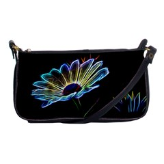 Flower Pattern Design Abstract Background Shoulder Clutch Bags
