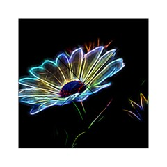 Flower Pattern Design Abstract Background Acrylic Tangram Puzzle (6  X 6 )