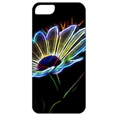 Flower Pattern Design Abstract Background Apple Iphone 5 Classic Hardshell Case