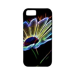 Flower Pattern Design Abstract Background Apple Iphone 5 Classic Hardshell Case (pc+silicone)