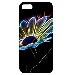 Flower Pattern Design Abstract Background Apple Iphone 5 Hardshell Case With Stand