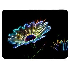 Flower Pattern Design Abstract Background Samsung Galaxy Tab 7  P1000 Flip Case