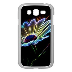 Flower Pattern Design Abstract Background Samsung Galaxy Grand Duos I9082 Case (white)