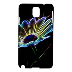 Flower Pattern Design Abstract Background Samsung Galaxy Note 3 N9005 Hardshell Case