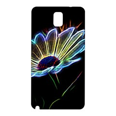 Flower Pattern Design Abstract Background Samsung Galaxy Note 3 N9005 Hardshell Back Case