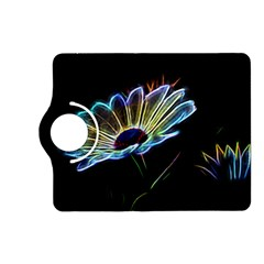 Flower Pattern Design Abstract Background Kindle Fire Hd (2013) Flip 360 Case
