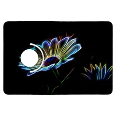 Flower Pattern Design Abstract Background Kindle Fire Hdx Flip 360 Case