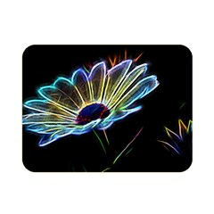 Flower Pattern Design Abstract Background Double Sided Flano Blanket (mini)