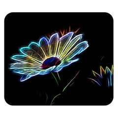 Flower Pattern Design Abstract Background Double Sided Flano Blanket (small)