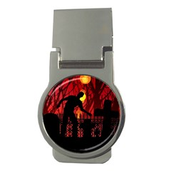 Horror Zombie Ghosts Creepy Money Clips (round)