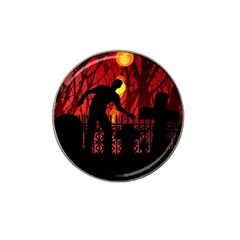 Horror Zombie Ghosts Creepy Hat Clip Ball Marker