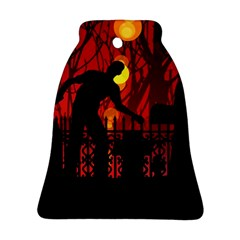 Horror Zombie Ghosts Creepy Ornament (bell)