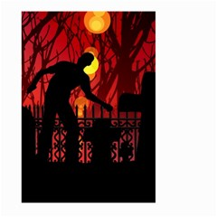 Horror Zombie Ghosts Creepy Large Garden Flag (two Sides)