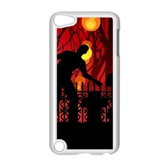 Horror Zombie Ghosts Creepy Apple Ipod Touch 5 Case (white)