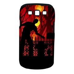 Horror Zombie Ghosts Creepy Samsung Galaxy S Iii Classic Hardshell Case (pc+silicone)