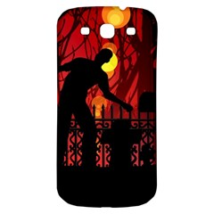 Horror Zombie Ghosts Creepy Samsung Galaxy S3 S Iii Classic Hardshell Back Case