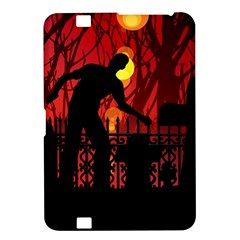 Horror Zombie Ghosts Creepy Kindle Fire Hd 8 9