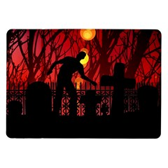 Horror Zombie Ghosts Creepy Samsung Galaxy Tab 10 1  P7500 Flip Case